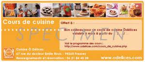 carte cadeau cours de cuisine cours de cuisine macarons sushi cupcakes verrines et