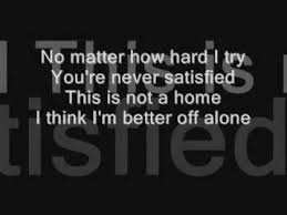 Home Three Days Grace Lyrics Video