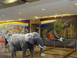 Denver International Airport Murals Meaning by Hedgehog Trip 2 5 An Elephant In The Denver Airport