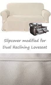 Double Reclining Sofa Cover by Sofas Center 46 Awesome Reclining Sofa Slipcover Images