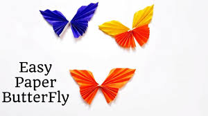 Make Paper Butterflies Following The Easiest Steps Easy Butterfly DIY Origami For Kids