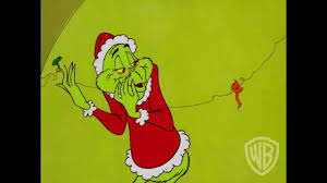 The Grinch Steals Little Cindy Lou Whos Christmas Tree