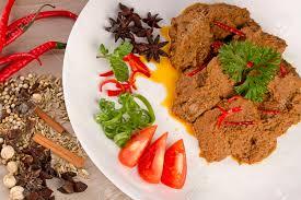cuisine indonesienne célèbre padang rendang cuisine indonésienne de sumatra