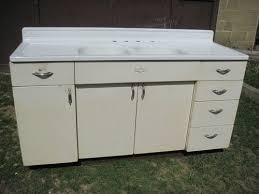 Youngstown Kitchen Sink Cabinet Craigslist by Antique Vintage Youngstown Kitchen Cabinet Sink Base W Double