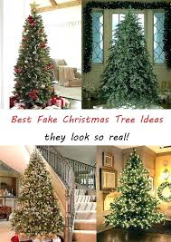 Realistic Artificial Trees Fake That Look Real Most Tree Christmas