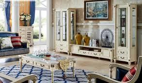 kolonial stil wohnwände regal vitrine wohnzimmer regale in