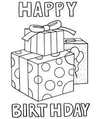Happy Birthday Coloring Card 58 Best Pages Images On Pinterest Download