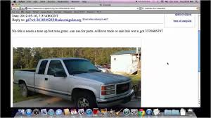 100 Craiglist Cars And Trucks Craigslist Dallas Tx For Sale By Owner New