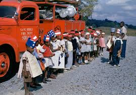 File:1940s Fire Truck And Kids On Kodachrome In Oak Ridge Tennessee ... Fire Truck Engine Kids Videos Station Compilation Novelty Lunch Box Learn About Trucks For Children Educational Video By Dump Mixer Road Roller Colors With Kids Large Ride On Toy Ladder W Lights Siren And Rc Cannon Brigade Vehicle Youtube Blippi Songs For Nursery Rhymes Fire Truck Videos Kids Trucks Ride Unboxing Review Youtube And Dodge Ram 3500 In