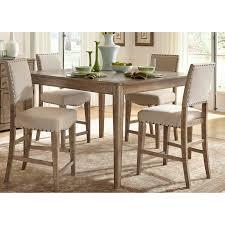 liberty furniture auburn 5 piece counter height gathering table