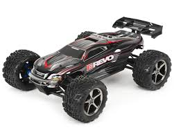 100 Revo Rc Truck Traxxas E Brushless 110 Scale 4WD Brushless Electric Racing