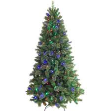 Ge Itwinkle Light Christmas Tree by Artificial Christmas Tree Pre Lit 7 5 U0027 Cashmere Color Change