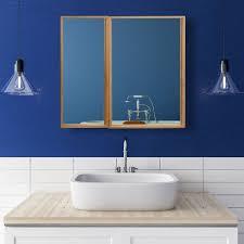 bad spiegelschrank mit 2 türen