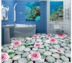 badezimmerfliesen design 3d 3d tapete für badezimmer