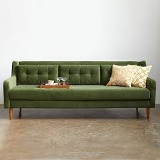 West Elm Crosby Sofa Sectional by Crosby Mid Century Sofa 80 U0026quot Mid Century Sofa Mid Century