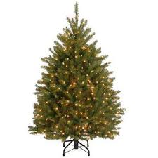 Pre Lit Pencil Slim Christmas Trees by Clear Artificial Christmas Trees Christmas Trees The Home Depot