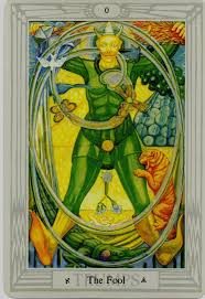 thoth deck the fool thoth fool tarot card tutorial esoteric meanings