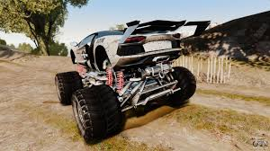 Lamborghini Aventador LP700-4 [Monster Truck] For GTA 4 Ferrari 458 Italia 2010 Monster Energy For Gta 4 Truck V1 Bus V3 Lamborghini Aventador Lp7004 Truck Grand Theft Auto Iv Cheats Cop Els Dodge Ram 3500 Bigfut