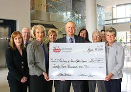 Ocean City Home Bank Donates $23 000 to Auxiliary of Shore Medical