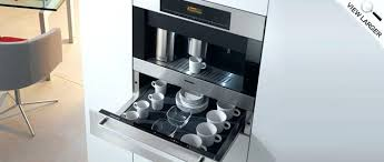 Miele Countertop Coffee Machines Highlights Built In Espresso Machine Reviews