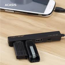 Acasis H027 Mobile Tablet PC Charging Cable OTG Micro USB HUB