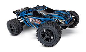 Traxxas Rustler 4×4 Stadium Truck, Now With Titan Power | RC Newb Traxxas Rustler 110 Rtr 2wd Electric Stadium Truck Rock N Roll W White Tra370541wht 370764rnrs Vxl Brushless Xl5 Battery And Nitro 25 With Tsm Blue Tra370541blue 4wd Scale Rc Car Wikipedia Traxxas Rustler Blue Brushed Tq 24
