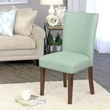 Aquamarine Blue Dining Parsons Chair