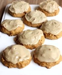 Libbys Great Pumpkin Cookies by Pumpkin Cookies With Caramel Frosting Tastes Better From Scratch