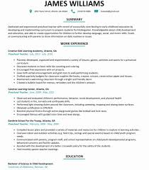 Daycare Teacher Resume Classy Emejing Teachers Examples Gallery New Coloring Pages