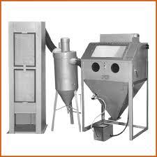 trinco model 36 deluxe with 450 cfm abrasive separator trinco
