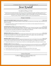 Career Objective Examples For Chef Resume With Standard Awesome Collection Of Executive To Create Stunning