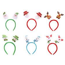 serre têtes noël bandeau coloré décoration fête noël pour enfant