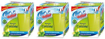 odeur de cuisine croc odor bougie cuisine 140 g lot de 3 amazon fr hygiène et