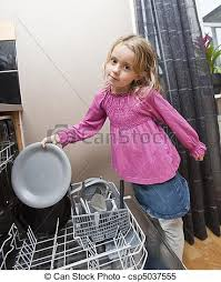 Dishwasher Clipart Boy Young Girl By The Clip Library Download