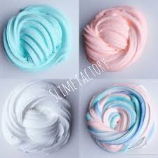 Fluffy Pastel Rainbow Unicorn Slime 4 Slimes With Care Sheet And Activator