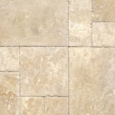 ms international beige pattern honed unfilled chipped travertine
