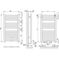 kermi basic 50 bh804x35x450mm weiß