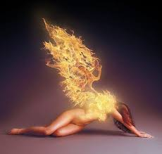 The Naked Boy Did Not Hesitate An Instant He Sprang From Tiptoe And His Body Shining In Flames Came Flying At Full Speed Into Fire