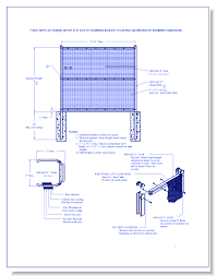 The Drawing Of Anti Climb Fence Installation Including Wireworks Anti Climb Ameristar Fence Products Caddetails
