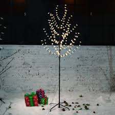 Ebay Christmas Trees 6ft by New 200 Led 6ft Glowing Branches Christmas Tree Fairy Lights