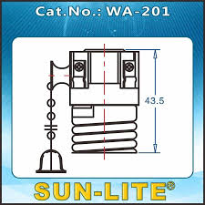 Sun Lite Lamp Sockets by Sun Lite Wa 201 Socket Pull Chain Switch Light Lamp Brass 660w