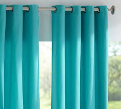 Sunbrella Curtains With Grommets by Window Coverings Everything Turquoise