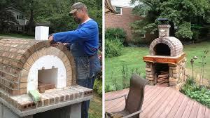 four a pizza exterieur 10 exemples de fours à pizza à fabriquer