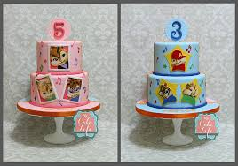 Alvin And The Chipmunks Cake Toppers by Party Cakes Dickinson Nd