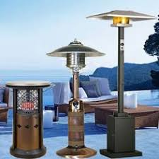 Living Accents Patio Heater Inferno by Northgate Floor Heater Turns Any Outdoor Space Into A 4 Season