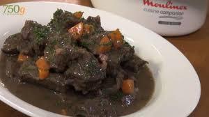 cuisiner du boeuf recette bœuf bourguignon façon cuisine companion 750g