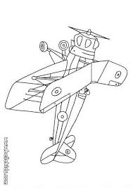 Biplane Coloring Pages Plane