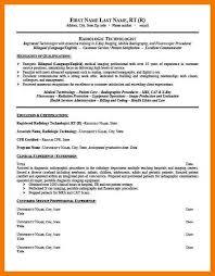 Ultrasound Resume Template 13 9 10