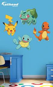 Fathead Princess Wall Decor pokemon favorites collection boy bedroom bedroom