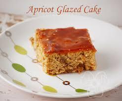 Violet s Buds Apricot Applesauce Cake with Apricot Glaze